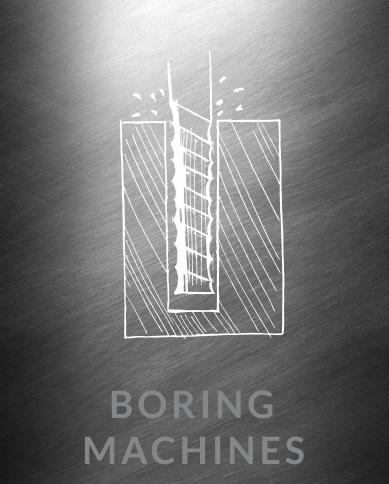 Boring Machines